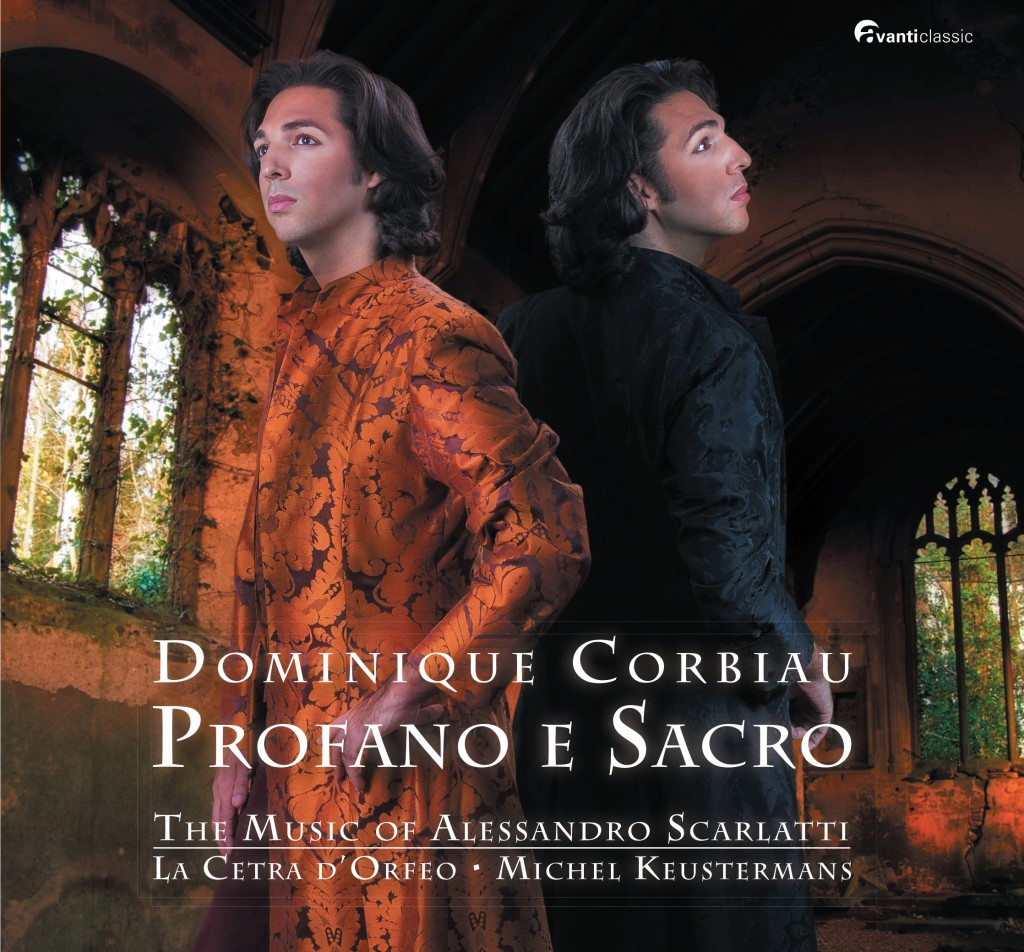 """Profano e Sacro"", le nouvel album du jeune contreténor belge Dominique Corbiau"